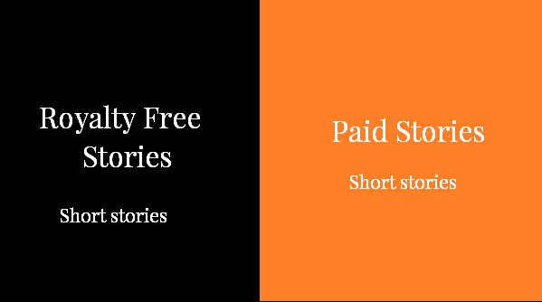 Royalty Free and Paid Stories